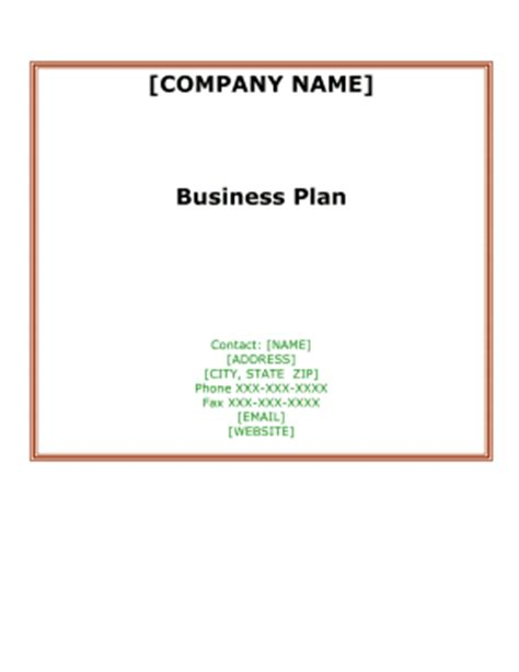 Business plan airline sample
